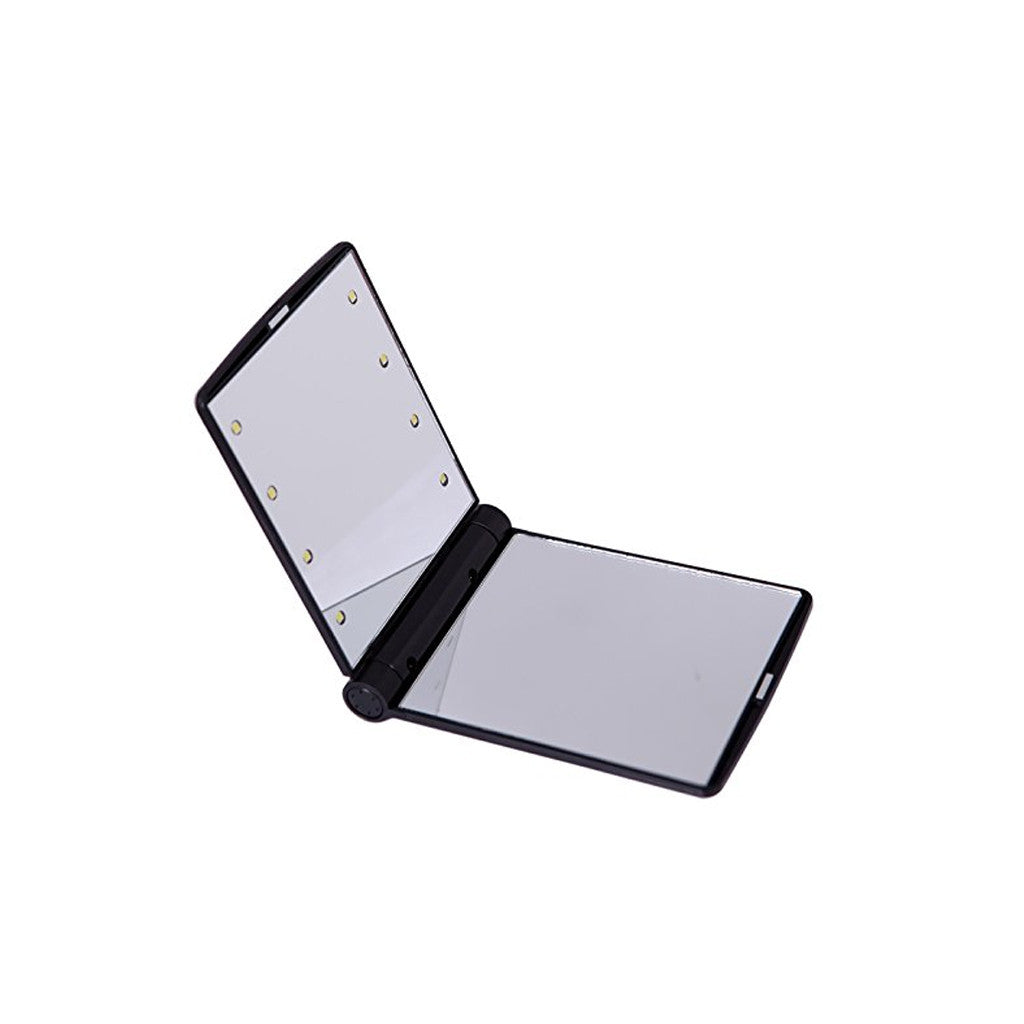 Pocket Makeup Mirror - LED Lighted - brandstoreuae