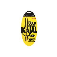 Maybelline New York - The Colossal Kajal 12 Hour - Black - brandstoreuae