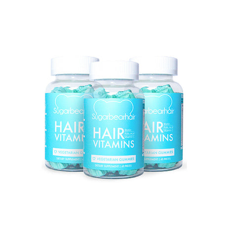 SugarBearHair for Hair Growth- 3 Months Supply Plus Bag