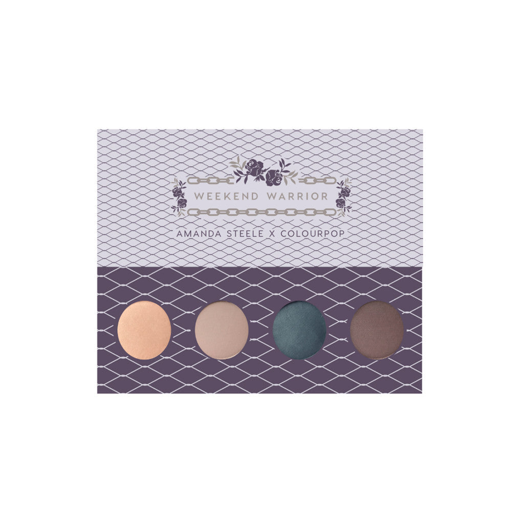 Colourpop - Pressed Powder Shadow Palette - Weekend Warrior - brandstoreuae