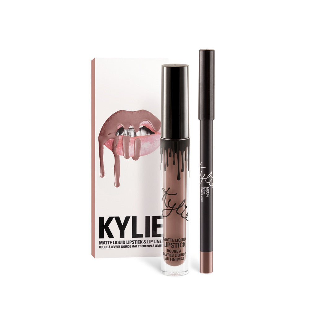 Kylie Matte Lip Kit - Moon - brandstoreuae