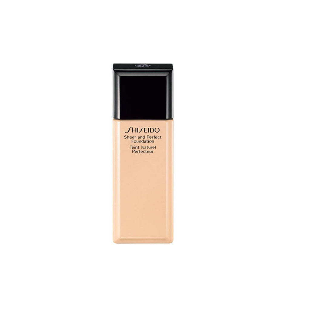 SHISEIDO - Sheer and Perfect Foundation - O60 Natural Deep Ochre - brandstoreuae