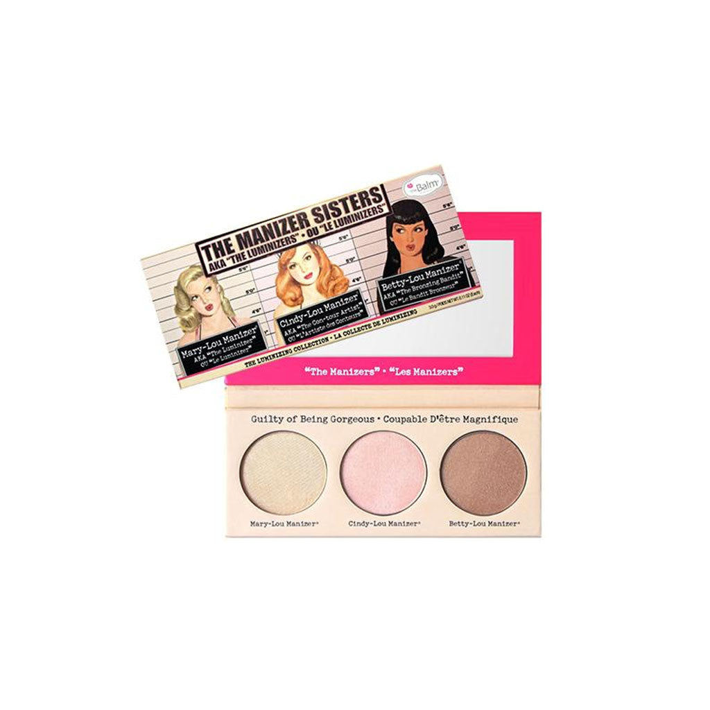the Balm the Manizer Sisters Luminizing Palette - brandstoreuae