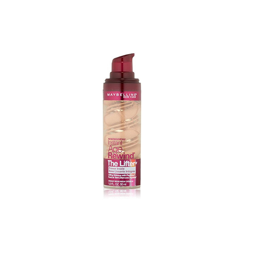 Maybelline Instant Age Rewind The Lifter Makeup Foundation With Peptides - Creamy Beige 290 - brandstoreuae