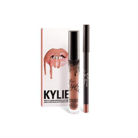 Kylie Matte Lip Kit - Dirty Peach - brandstoreuae