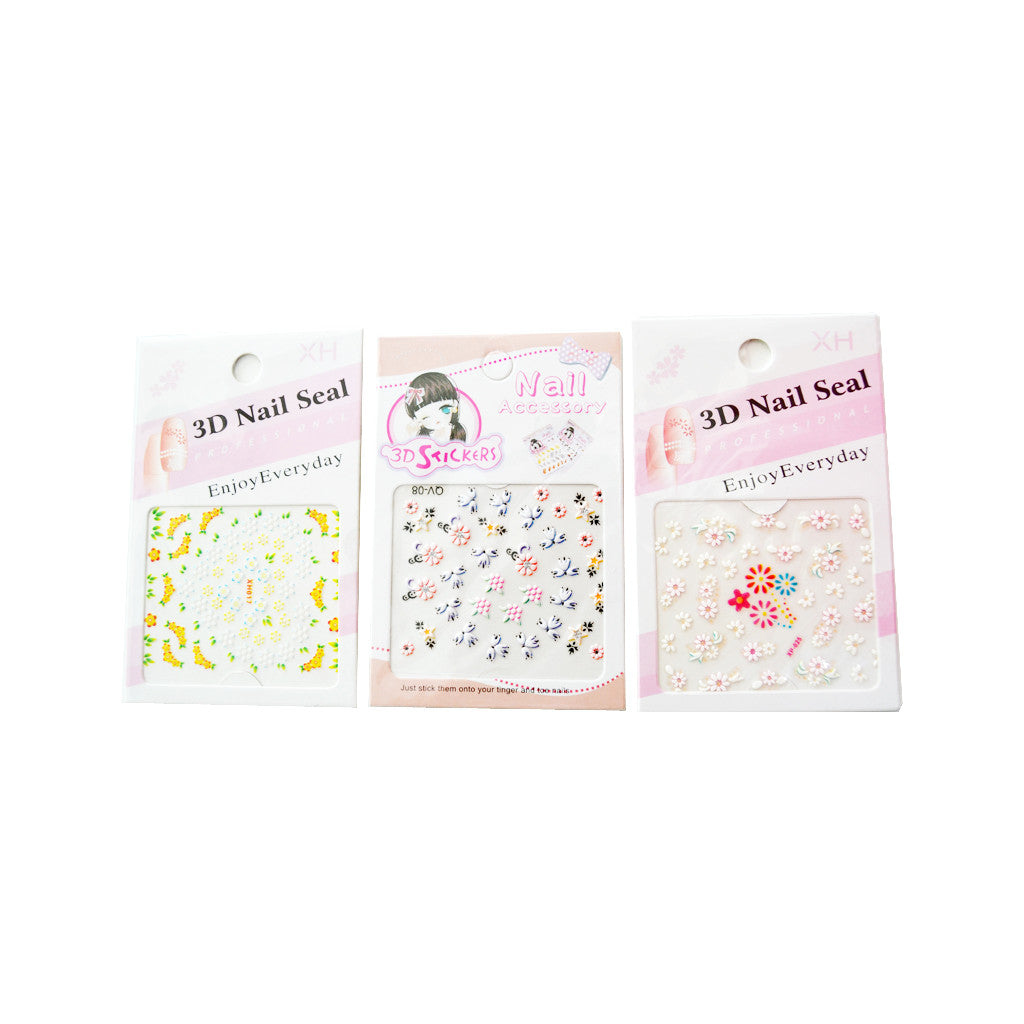Perfume Lovers 3D Nail Art Sticker - brandstoreuae