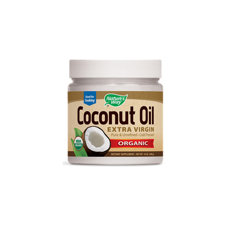 Nature's Way - Organic Coconut Oil (Extra Virgin) 448 gms