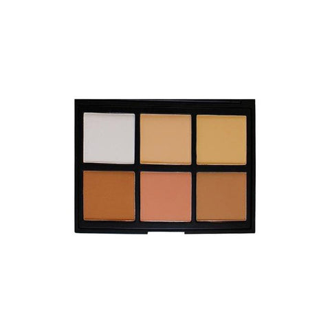 Morphe - 06PC Cool Pro Definition Palette - brandstoreuae