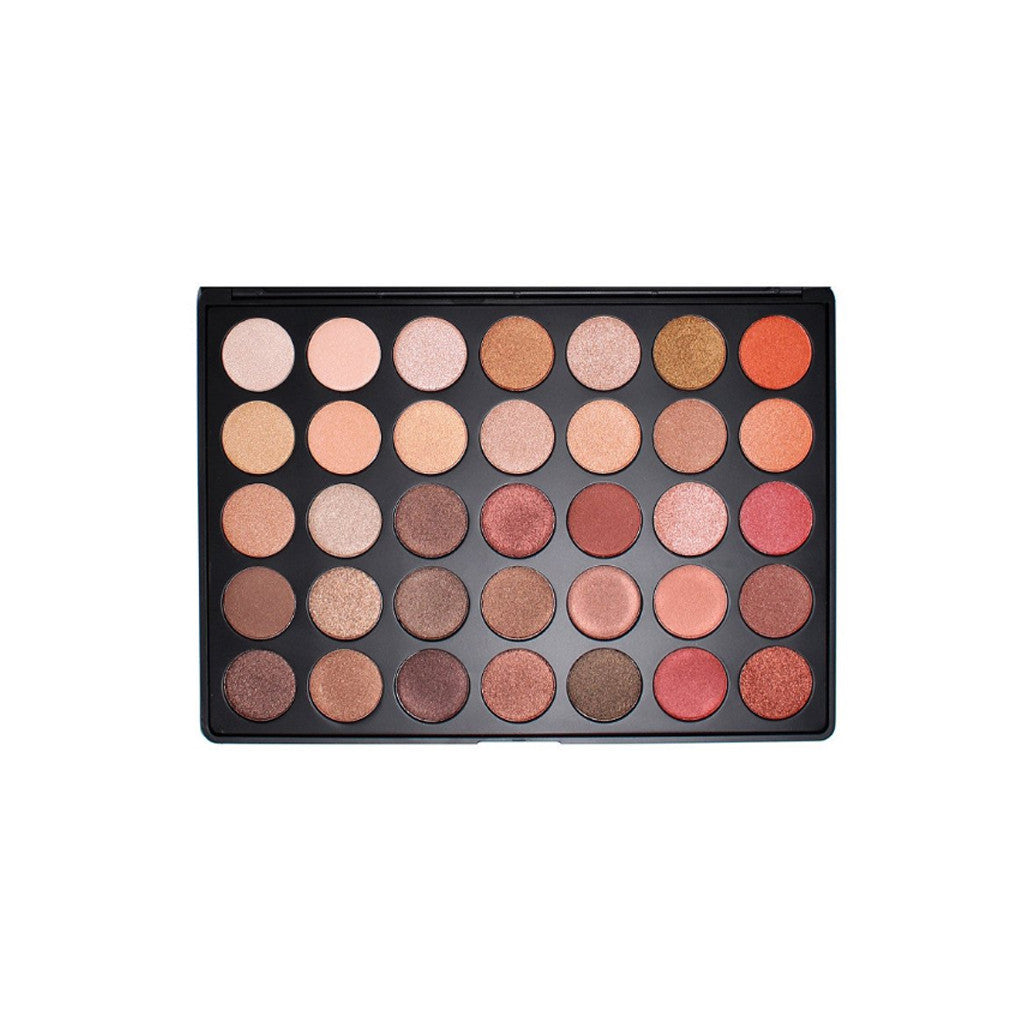 Morphe - 35OS Color Shimmer Nature Glow Eyeshadow Palette