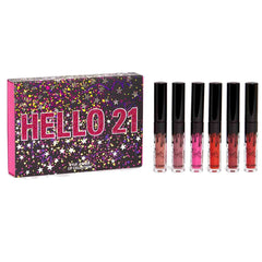 Kylie - The Birthday Collection - Hello 21 Mini Lip Set,Lipstick-Lipcare-Cosmetics-Makeup accessories-Kylie cosmetics-Makeup -Makeover-New collection 2019-New kylie products