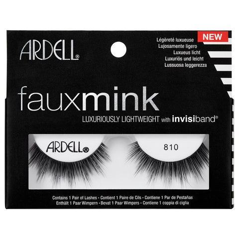 Ardell Professional Faux Mink Lashes - 810 Black - brandstoreuae