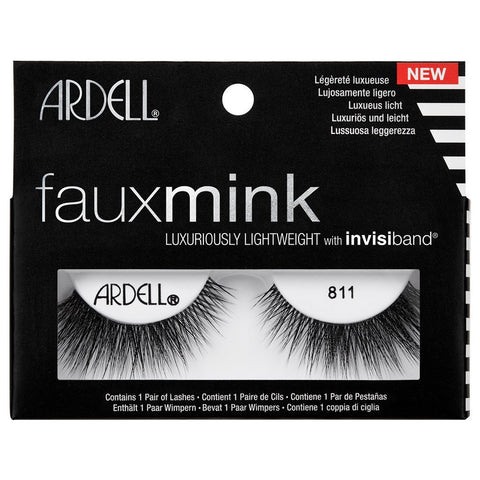 Ardell Professional Faux Mink Lashes - 811 Black - brandstoreuae