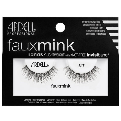 Ardell Professional Faux Mink Lashes - 817 Black - brandstoreuae