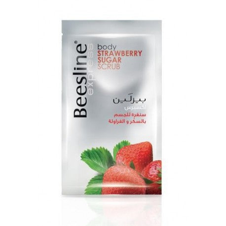 Beesline - Express- Body Strawberry Sugar Scrub - brandstoreuae