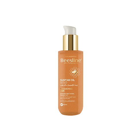 Beesline - SunTan Oil Gold - Shimmering Tan (200ml)