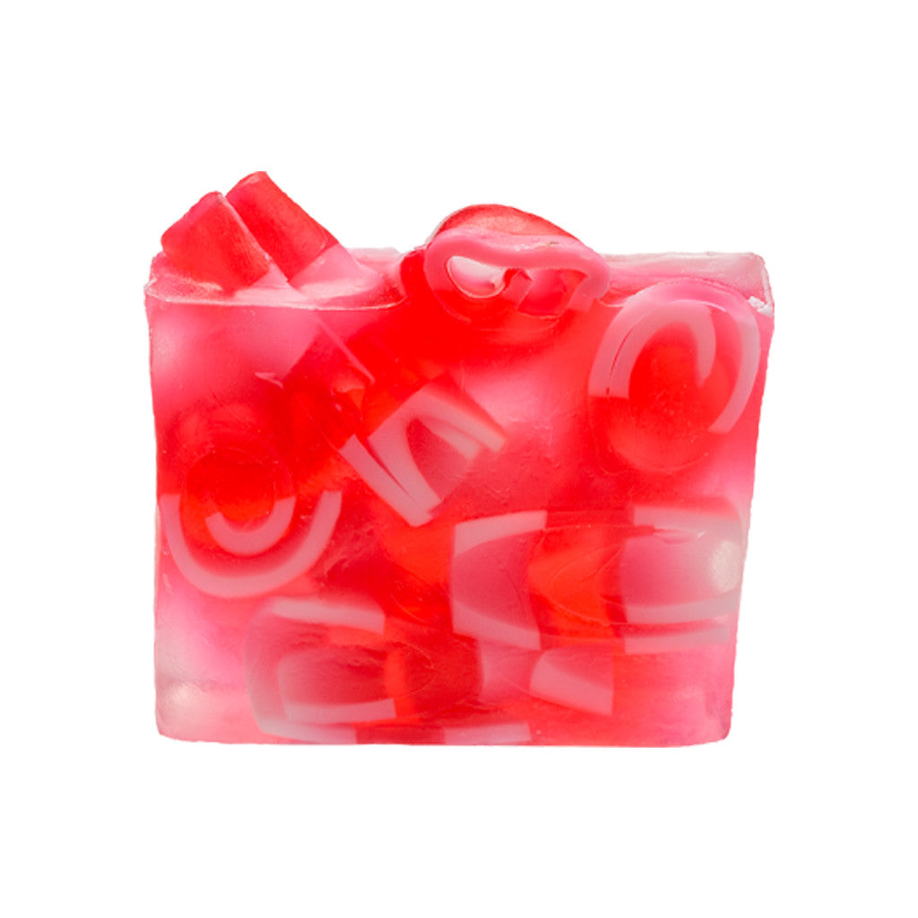 Bomb Cosmetics - Bath Soap - Candy Cane Mountain