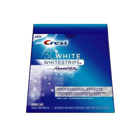 Crest 3D White Whitestrips with Advanced Seal No Slip Technology - 14 Treatments
