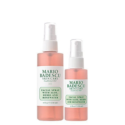 Mario Badescu - Facial Spray With Aloe, Herbs And Rose Water Duo - brandstoreuae