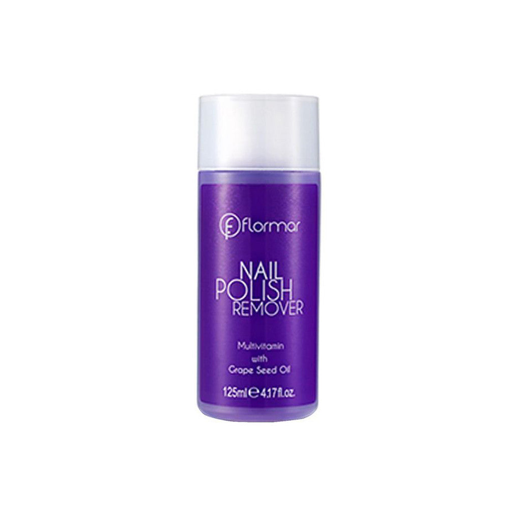 Flormar Nail Polish Remover - Grape Seed Oil 01 - brandstoreuae