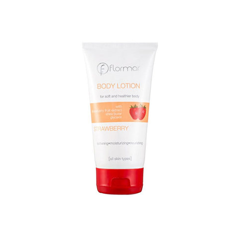 Flormar Body Lotion for All Skin Types - Strawberry - 150ml - brandstoreuae
