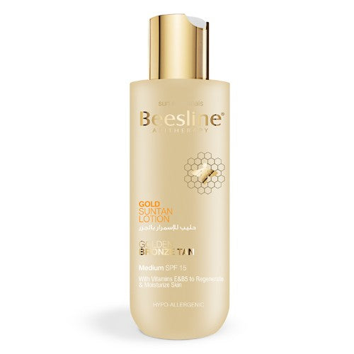 Beesline - Gold Suntan Lotion SPF15 - 200ml