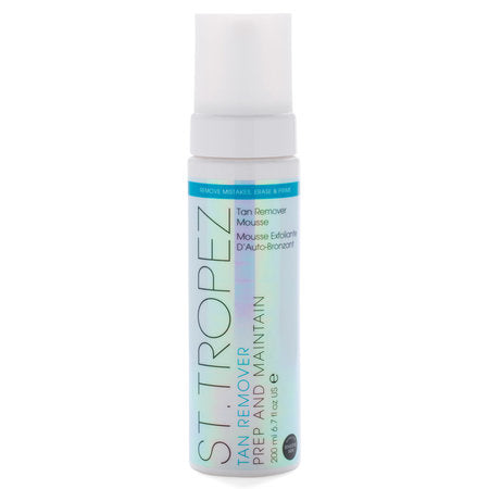 St Tropez Tan Remover Mousse Prep And Maintain - 200ml