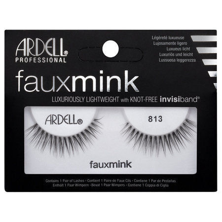 Ardell Professional Faux Mink Lashes - 813 Black - brandstoreuae