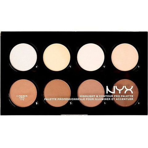 NYX Cosmetics - Highlight and Contour Pro Palette - HCPP01 - brandstoreuae