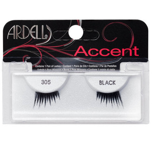 Ardell Accent Lashes - 305 Black