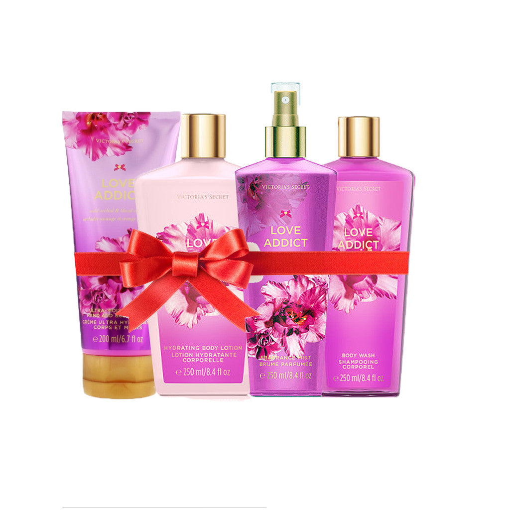 Victoria's Secret - Love Addict Beauty Set (Combo of 4) - brandstoreuae