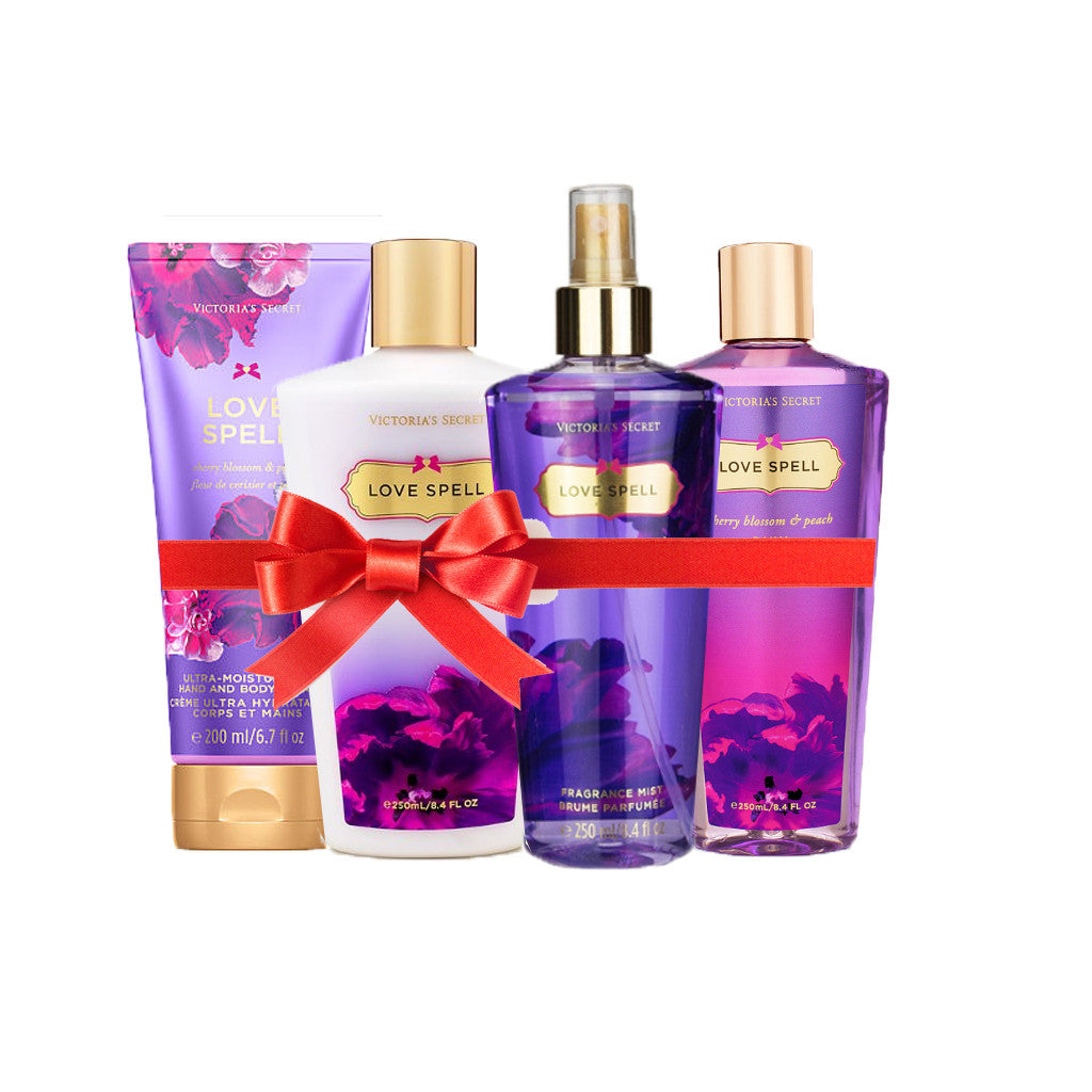 Victoria's Secret - Love Spell Beauty Set (Combo of 4) - brandstoreuae