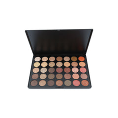 Palette Morphe 350S Color Shimmer Nature Glow Eyeshadow Palette - 1