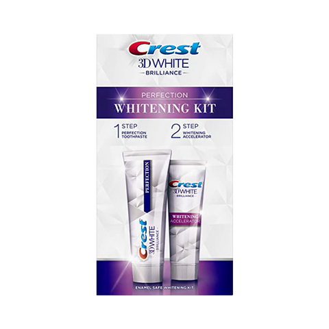 Crest 3D Brilliance Perfection Toothpaste - Whitening Kit