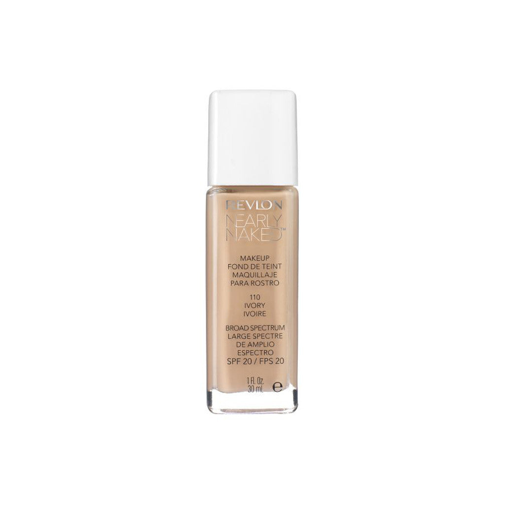 Revlon Nearly Naked Make Up - 110 Ivory - brandstoreuae