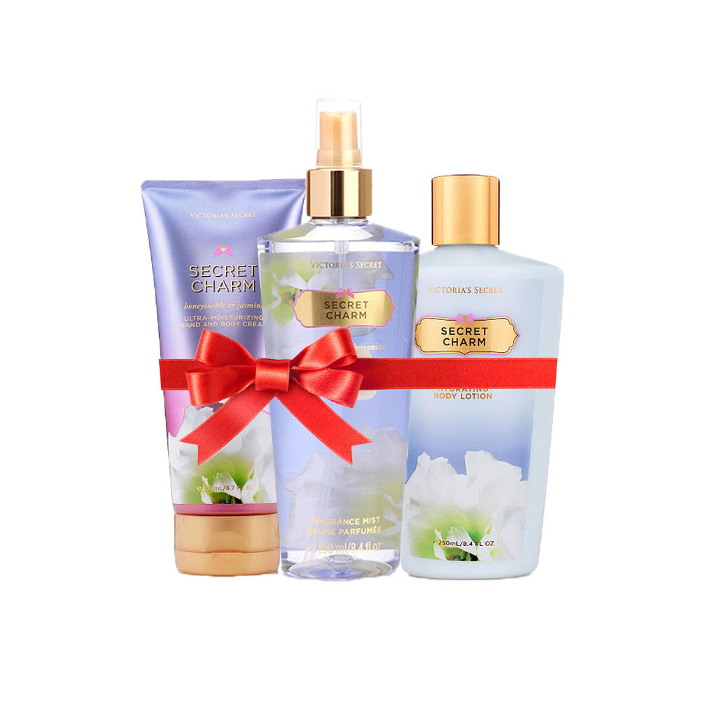 Victoria's Secret - Secret Charm Beauty Set (Combo of 3) - brandstoreuae