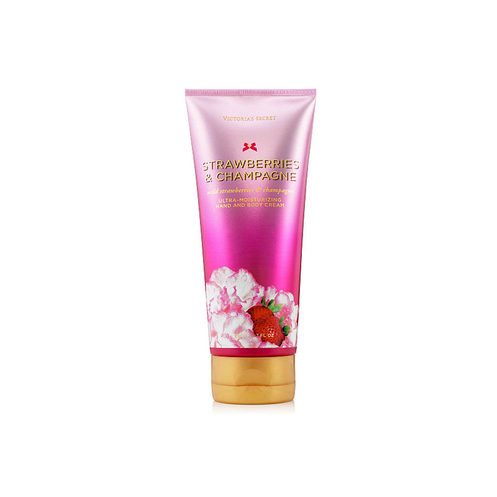 Victoria's Secret - Strawberries & Champaigne - Hand and Body Cream - brandstoreuae