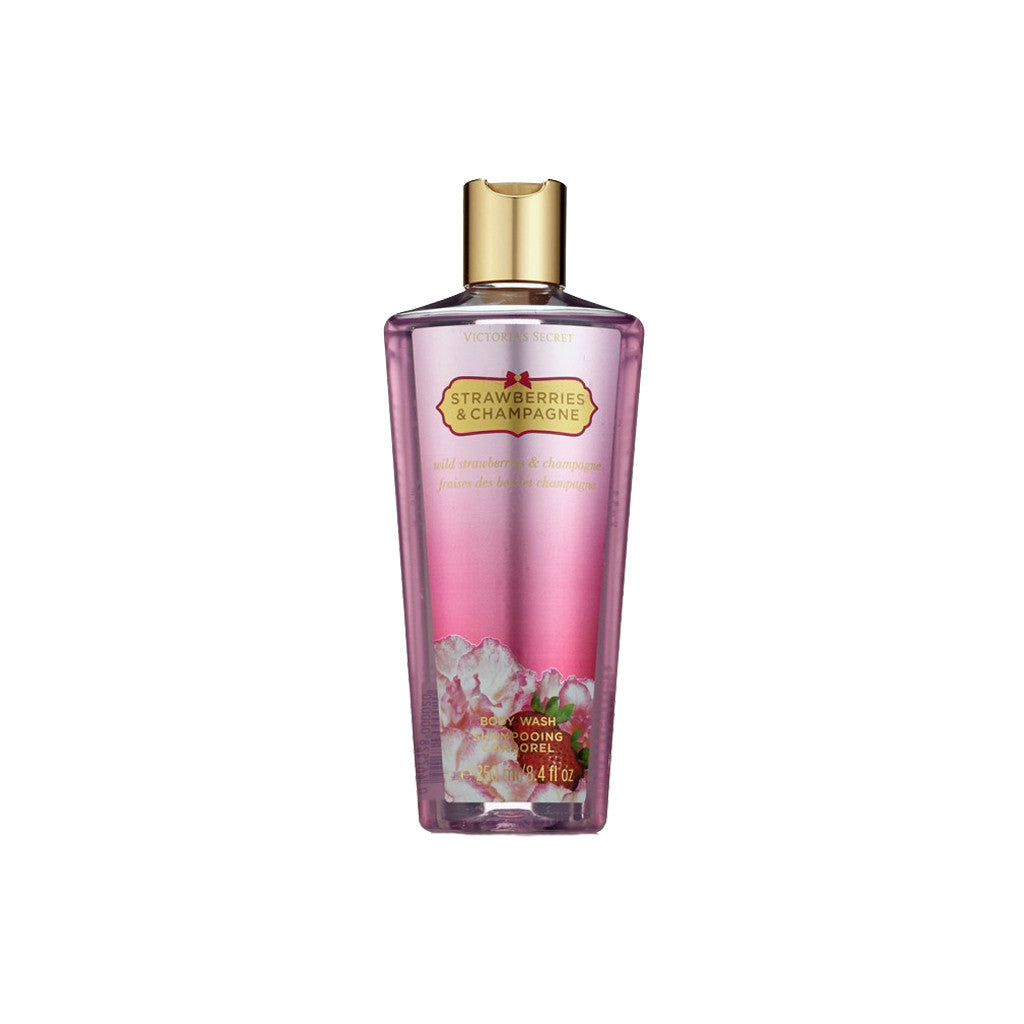 Victoria's Secret - Strawberries & Champaigne - Body Wash - brandstoreuae