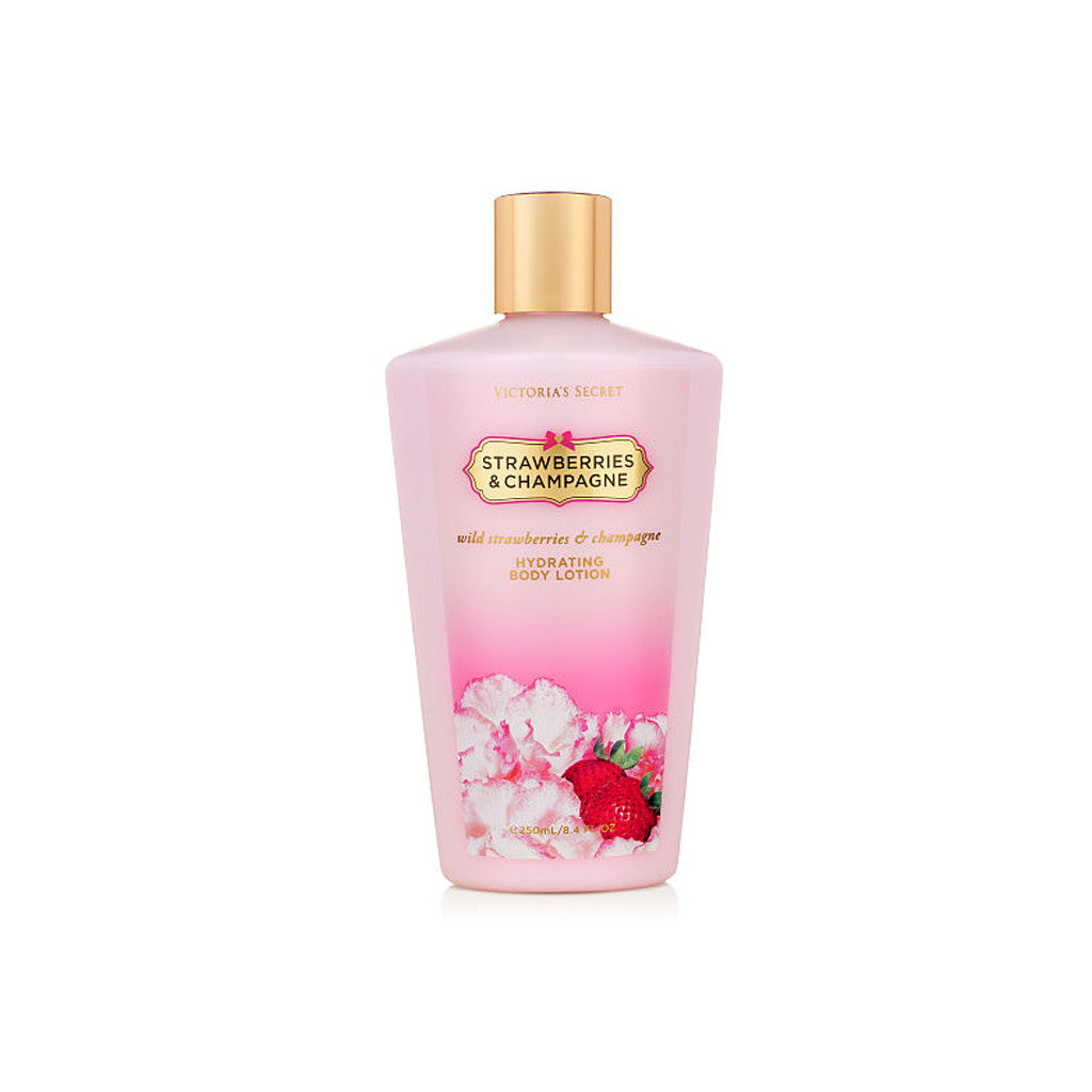 Victoria's Secret - Strawberries & Champaigne - Body Lotion - Victoria Secret-BRANDSTORE