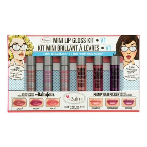 the Balm Meet Matte Step 6 Mini Kit - Volume 1 - brandstoreuae