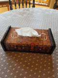 Rose Lemon Tissue Box holder