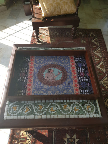 Mughal Queen Serving Tray