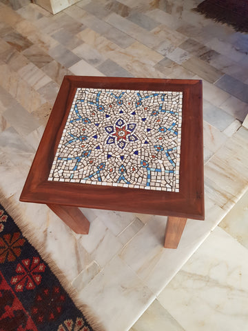 Starry nights end table