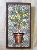 Lemon Tree Mosaic Wall Art