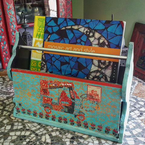Rickshaw Magazine storage rack
