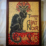 Le Chat Noir Mosaic Wall Art