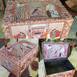 Lilac Lace Chest Box