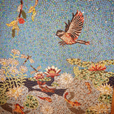 Ducks in Magnolia Mosaic Mural Project