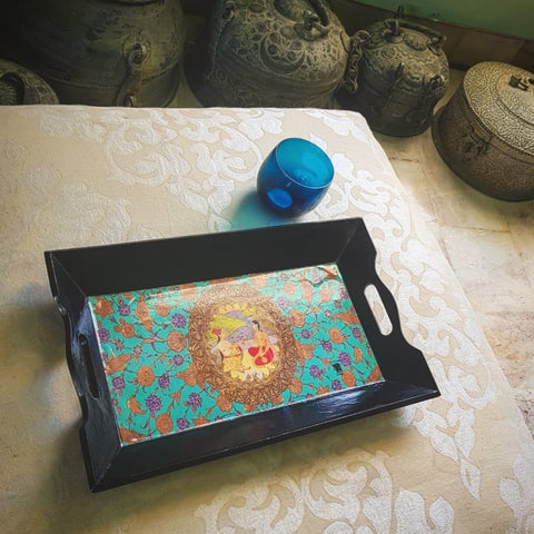 Medium Mughal Queen Castle Tray