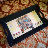 Medium Paisley Rickshaw tray