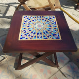Arabesque Patio Square Folding Table